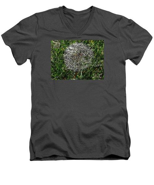 String Theory Dandelion Men's V-Neck T-Shirt