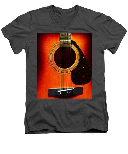 Strings  Men's V-Neck T-Shirt