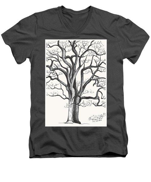 Stripped Bare Men's V-Neck T-Shirt