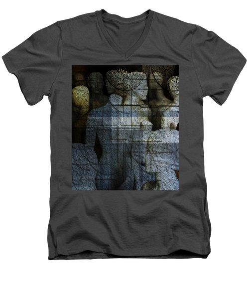 Strong, Fearless, Beautiful  Men's V-Neck T-Shirt