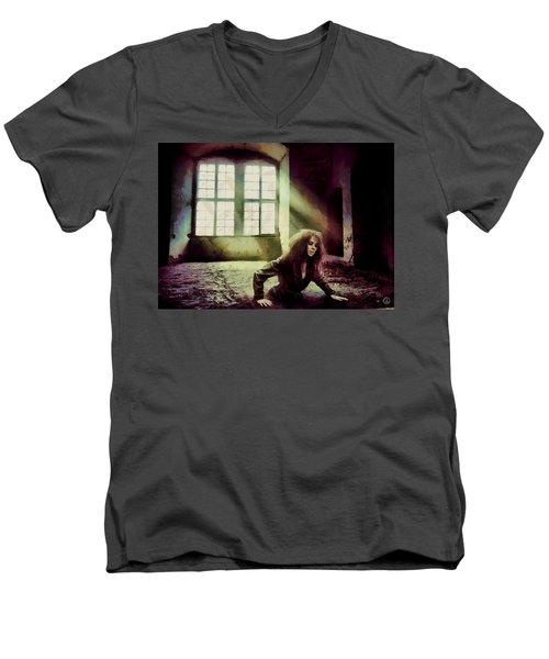 Stuck Men's V-Neck T-Shirt