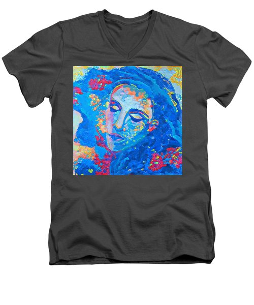 Stuck In A Moment Men's V-Neck T-Shirt