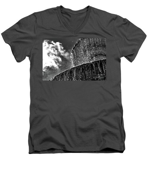 Students Fountain Men's V-Neck T-Shirt by Juergen Klust