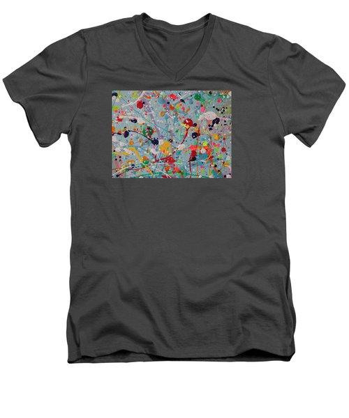 Studio Floor - Detail  Men's V-Neck T-Shirt