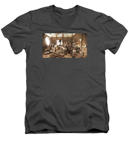 Studio Image Men's V-Neck T-Shirt