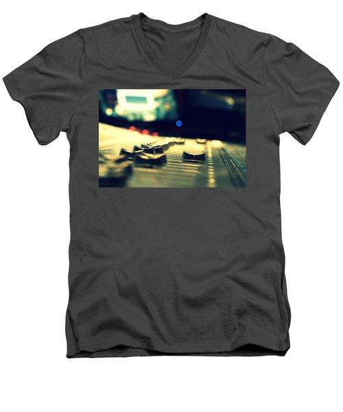 Studio Moments - Faders Men's V-Neck T-Shirt