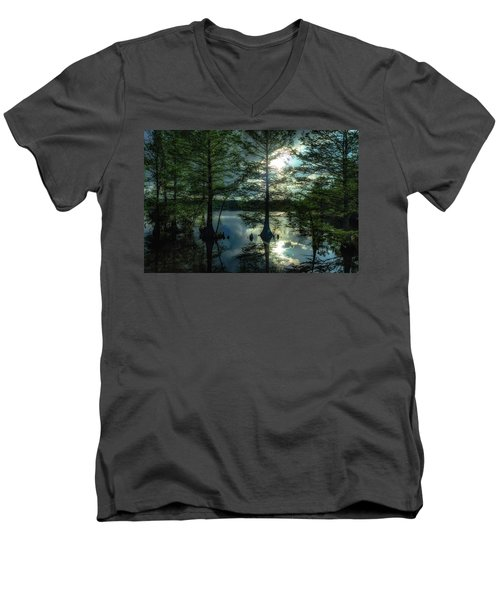 Stumpy Lake Men's V-Neck T-Shirt