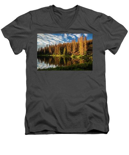 Stunning Sunrise Men's V-Neck T-Shirt