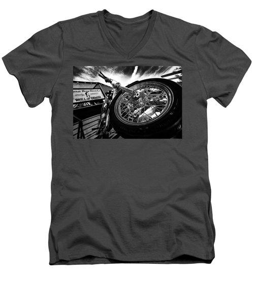 Stunt Bike Men's V-Neck T-Shirt