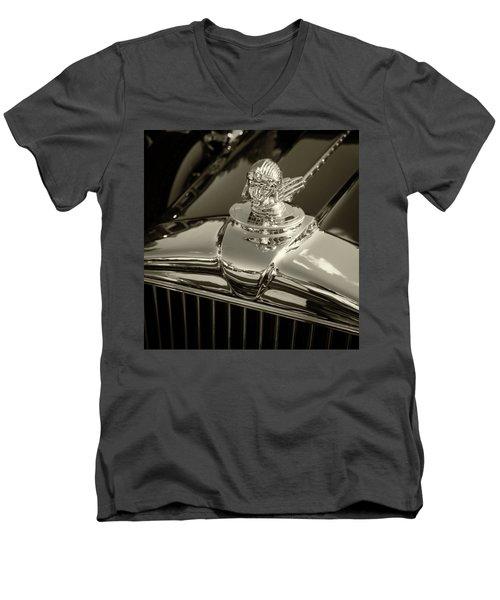 Stutz Hood Ornament Men's V-Neck T-Shirt