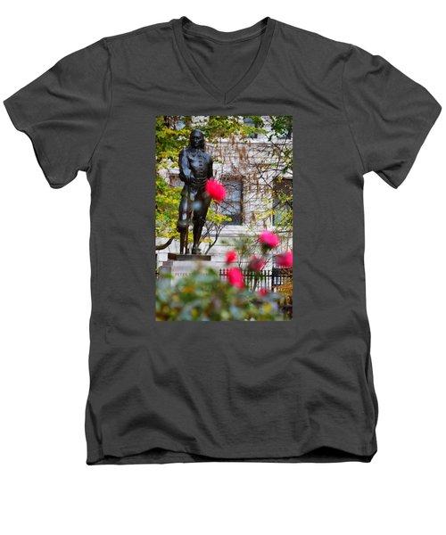 Stuyvesant Square Park Nyc  Men's V-Neck T-Shirt