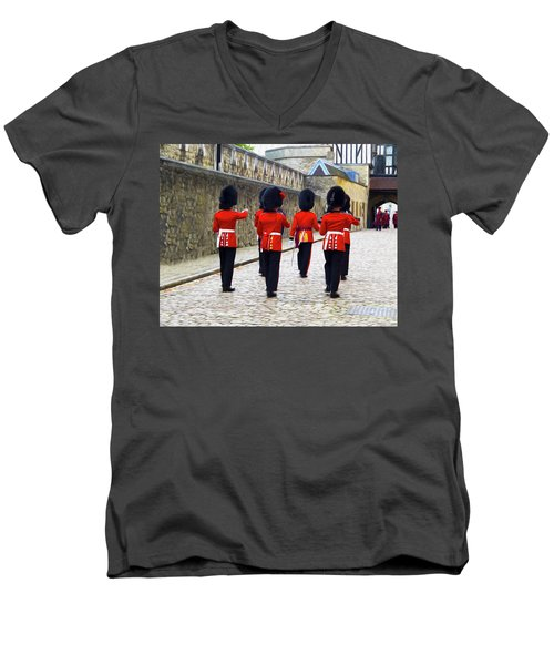 Step Aside For The Tower Guard Men's V-Neck T-Shirt