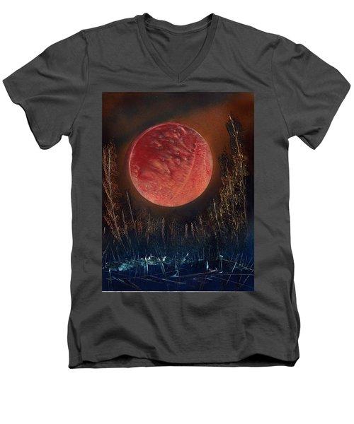Sub Siberian Solitude Men's V-Neck T-Shirt