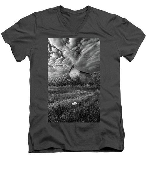 Sublimity Men's V-Neck T-Shirt by Phil Koch