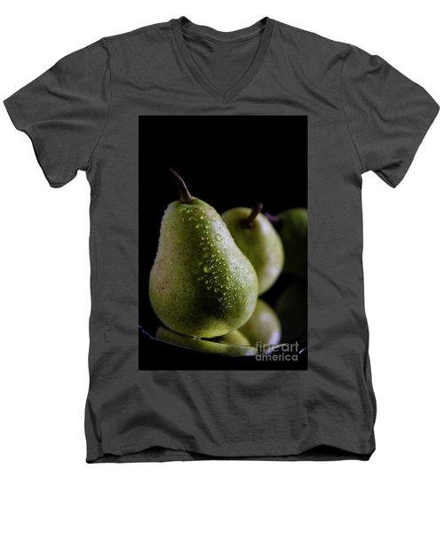 Succulent Pears Men's V-Neck T-Shirt