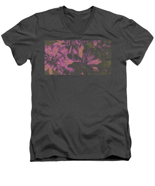 Succulents #3 Men's V-Neck T-Shirt