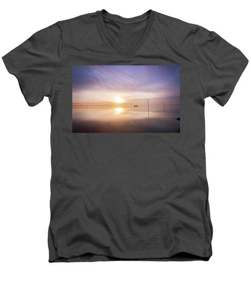 Such A Joyfull Day Men's V-Neck T-Shirt