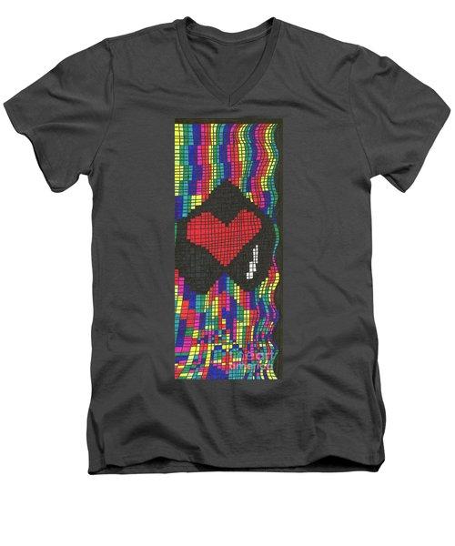 Suffering Men's V-Neck T-Shirt