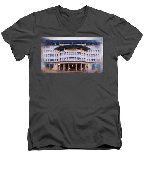 Suffolk Law School Men's V-Neck T-Shirt