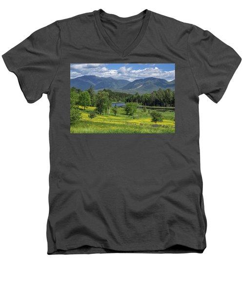 Sugar Hill Springtime Men's V-Neck T-Shirt