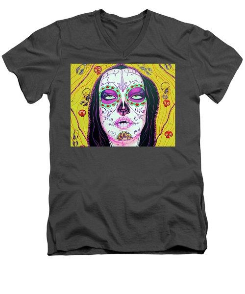 Sugar Kiss Men's V-Neck T-Shirt