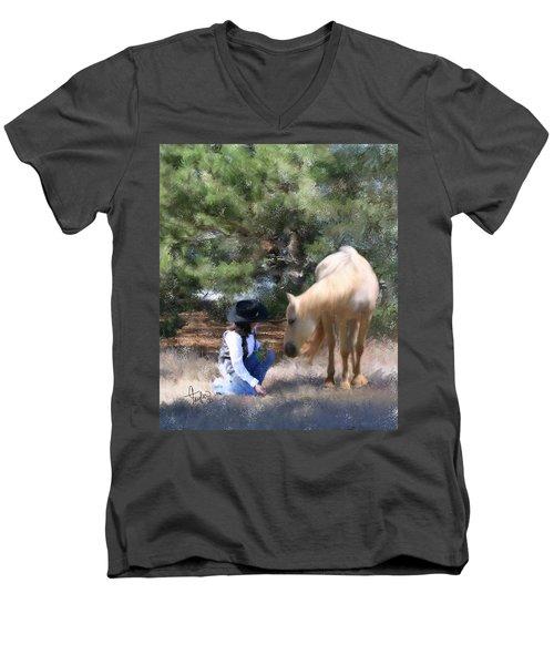 Sugar N Spice Men's V-Neck T-Shirt