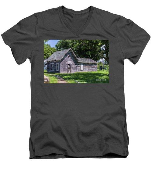 Sullender's Store Men's V-Neck T-Shirt by Kathy McClure