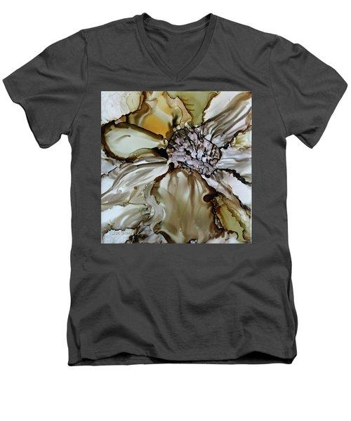 Sultry Petals Men's V-Neck T-Shirt