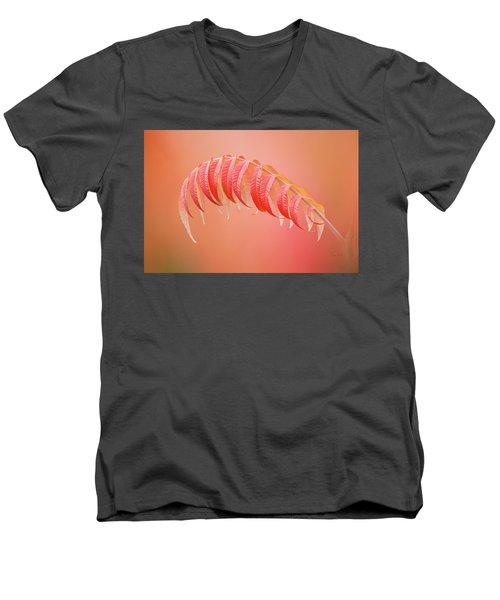Sumac Branch Men's V-Neck T-Shirt