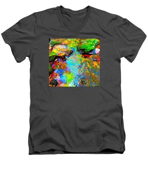 Summer 2015 Mix 3 Men's V-Neck T-Shirt by George Ramos