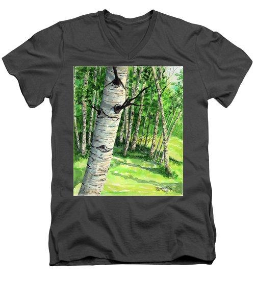Summer Aspen Men's V-Neck T-Shirt