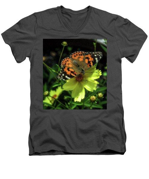 Men's V-Neck T-Shirt featuring the photograph Summer Beauty by Bruce Carpenter