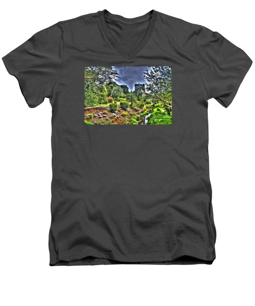 Summer Blarney Garden Men's V-Neck T-Shirt