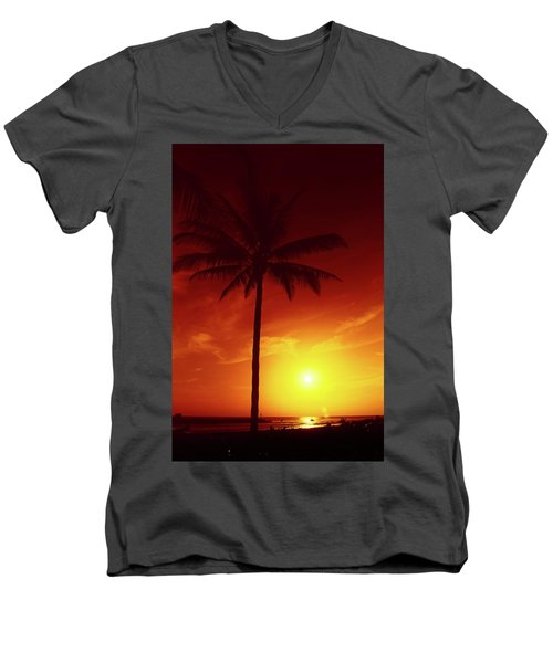Summer By The Sea Men's V-Neck T-Shirt