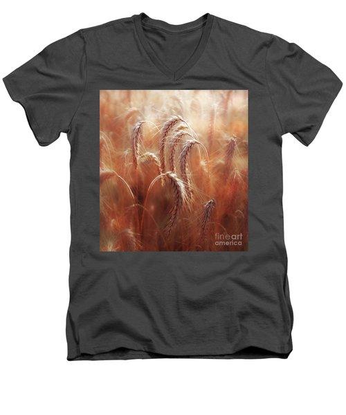 Summer Corn Men's V-Neck T-Shirt