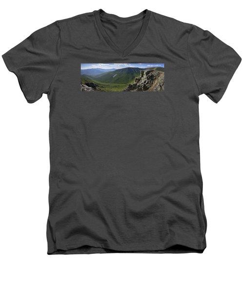 Summer Day On Bondcliff Men's V-Neck T-Shirt