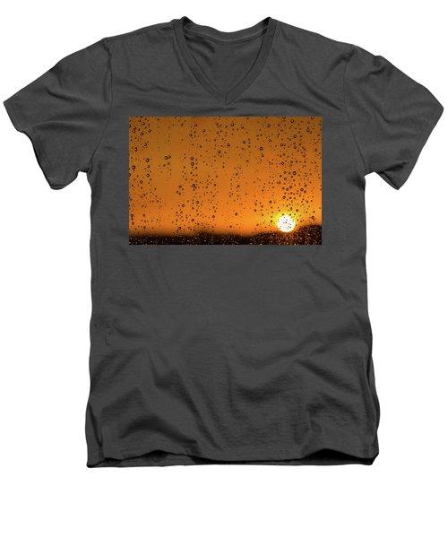 Summer Evening Men's V-Neck T-Shirt