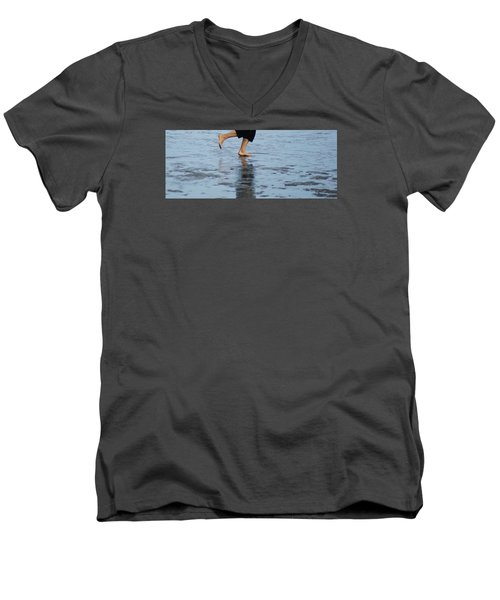 Men's V-Neck T-Shirt featuring the photograph Summer Feet   #2 by Margie Avellino