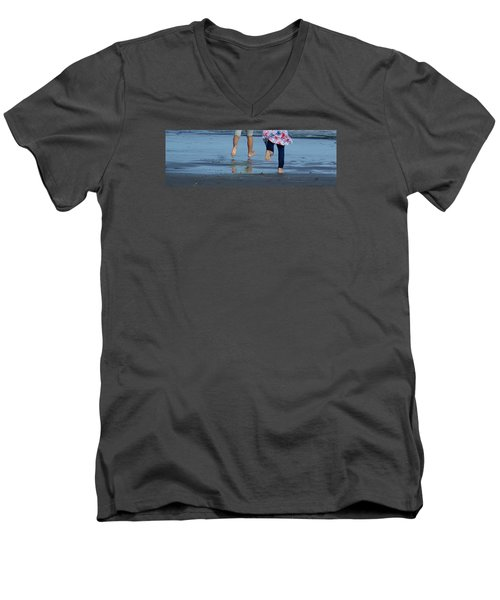 Men's V-Neck T-Shirt featuring the photograph Summer Feet   #3 by Margie Avellino