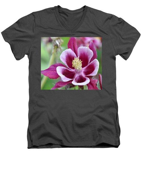 Summer Flower-2 Men's V-Neck T-Shirt