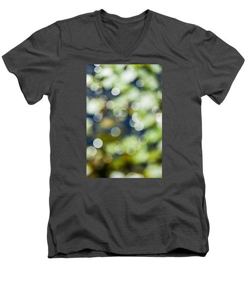 Summer Glitter Men's V-Neck T-Shirt