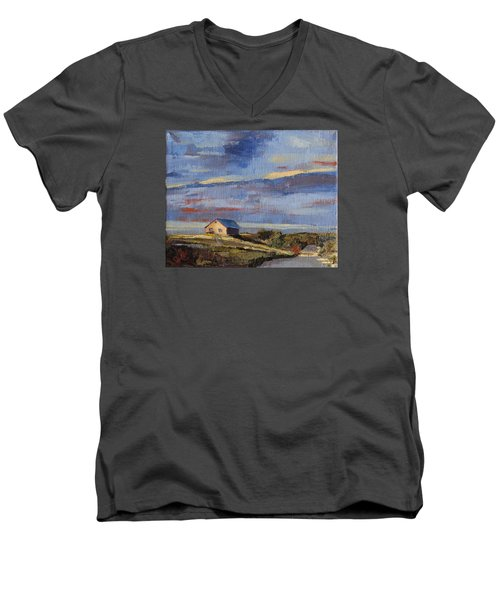 Summer Glow Men's V-Neck T-Shirt