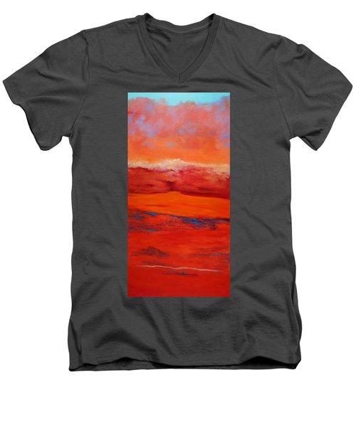 Summer Heat 12 Men's V-Neck T-Shirt by M Diane Bonaparte