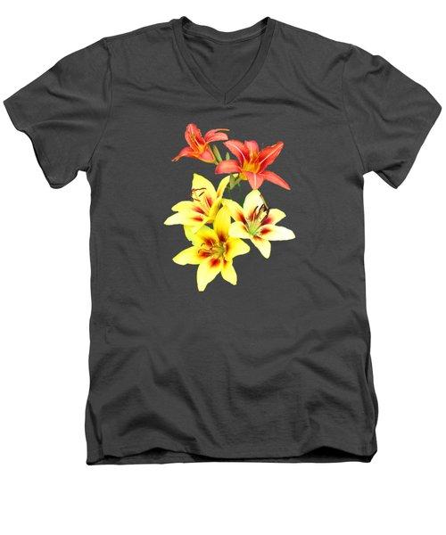 Summer I I  Men's V-Neck T-Shirt by Newwwman