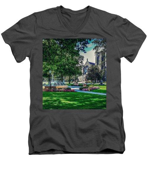 Summer In Juckett Park Men's V-Neck T-Shirt