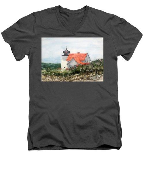 Summer In Maine Men's V-Neck T-Shirt