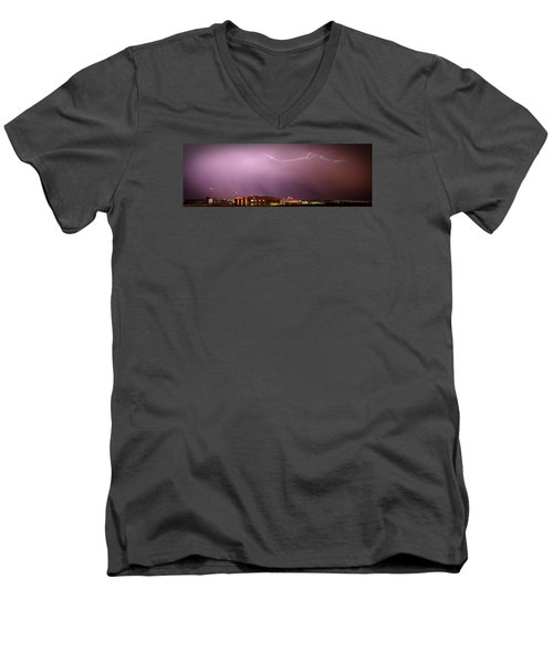 Summer Lightning Men's V-Neck T-Shirt