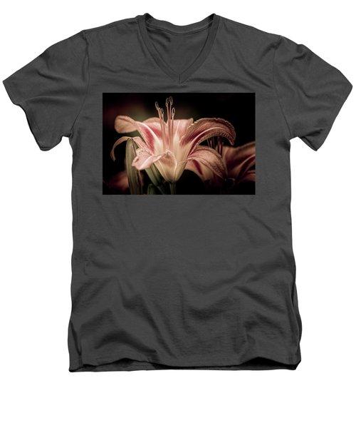 Summer Lily Men's V-Neck T-Shirt