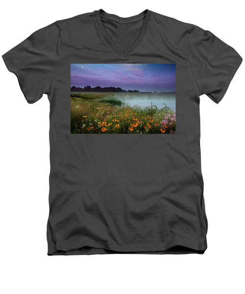 Summer Morning Men's V-Neck T-Shirt