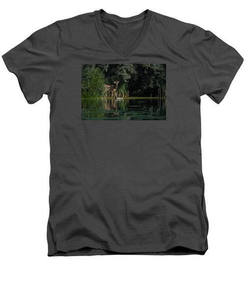 Summer Morning Walk Men's V-Neck T-Shirt